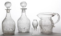 Rare blown-molded forms/patterns