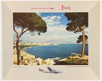 Vintage Airline & Travel Poster Auction