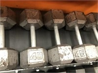 Dumbell Set with Rack