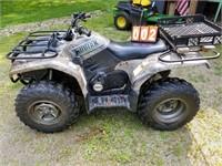 Kodiak Grizzly 4x4 4 wheeler 400cc