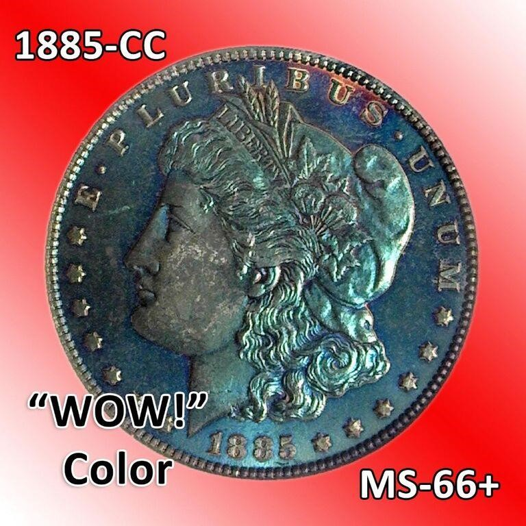 Hundreds of Rare Coins! Silver Dollars, Errors, & Rarities