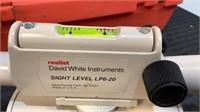 David White Instruments Survey Sight Level LP6-20