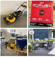 Surplus Store Liquidation Tools, Patio Furniture, Housewares