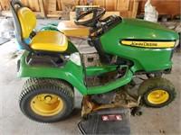 2012 John Deere Lawn Tractor w/ Snowblower