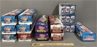 Collection of Complete Topps Baseball Sets