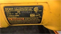 """DeWalt 4-1/2"""" Cut-Off Tool DC411"""