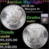 *Highlight* 1878-cc Morgan $1 Graded ms65+