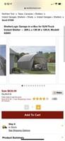 Shelter Logic 20x13 Garage