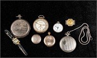 Lot of Pocket Watches and more.