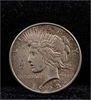 1928S Peace Silver Dollar