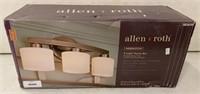 Allen + Roth 3 light vanity bar