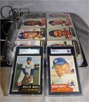 1953 Topps Baseball Complete set 1-280 Mantle/Mays