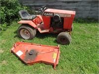 Case 222 lawn mower, ran good