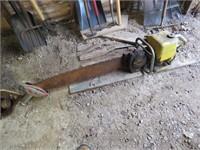 2 man Super Pioneer chain saw