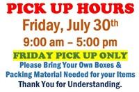 Thurs.@6pm -600 Lot  Clark County Public Online Auction-7/29