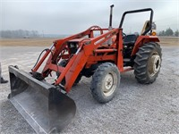 Allis Chalmers 6140 Loader Tractor
