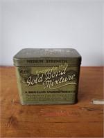 Boîte tabac 'Gold Bond Mixture' Gallaherl Ltd