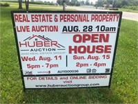 Moving Estate Live Personal Property Auction