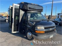 2011 Chevrolet Express Party Bus
