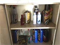 3 Metal Storage Cabinets & Contents
