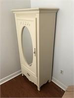 Small Mirrored Wardrobe