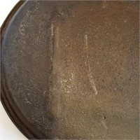 """19th C Cast Iron 23""""x10"""" Griddle With 2 Gatemarks"""