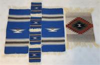7 Southwestern Chimayo Woven Mats