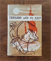 "BOOK ""Tensleep & No Rest"" Johnson County WY War"