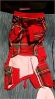 Plaid Teddy bear coat M Reg $58