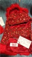 Fancy red coat XXS Reg $35
