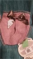Italian handmade wool mauve undies M Reg $65