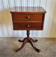 Mahogany Sewing Stand