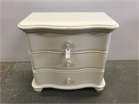 Stanley Three drawer bedside stand