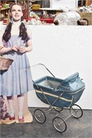 1940's-50's Easy-Fold Baby Carriages By Weber