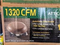 Attic Aire 1320 CFM Power Attic Ventilator