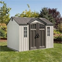 Lifetime 60243 10 x 8 Ft. Outdoor Storage Shed