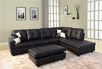 Beverly  Furniture Right FacingSectional Sofa Set
