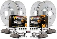 Power Stop K6268-36 Z36 Front and Rear Brake Kit