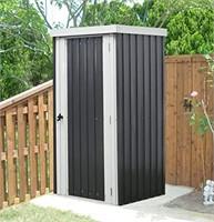 Steel Patio Storage Shed