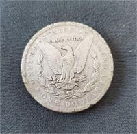 1884-O & 1879-P US Morgan Silver Dollar Coins