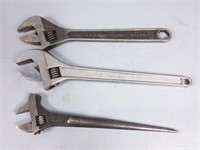 Blue Point & Gray Crescent Wrenches