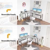 CubiCubi L Shaped Desk Computer Corner Desk