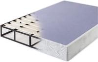 ZINUS Metal Box Spring with Wood Slats Queen