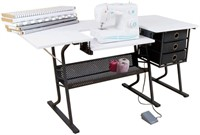 Sewing Center Craft Table Sturdy Computer Desk