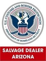 U.S. Customs & Border Protection (Salvage) 5/3/2021 Arizona
