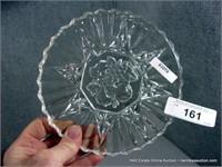 LOT (4): ASSORTED PRESS GLASS - WHITE GLASS FRUIT