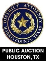 Harris County D.A. online auction ending 5/10/2021