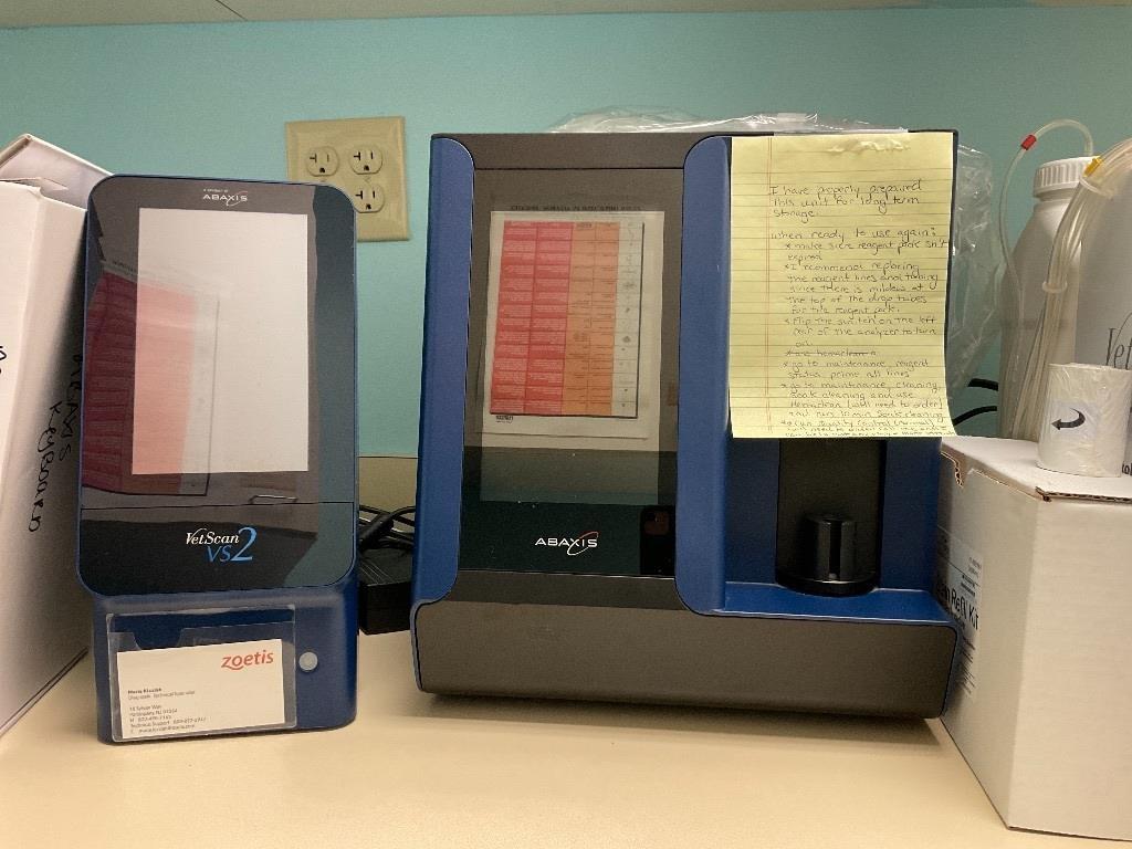 VetScan HM5 & VetScan VS2 Veterinary Hematology