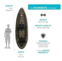 Lifetime Sport Fisher Single or Tandem Kayak 10 Ft