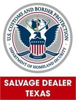 U.S. Customs & Border Protection (Salvage) 5/3/2021 Texas
